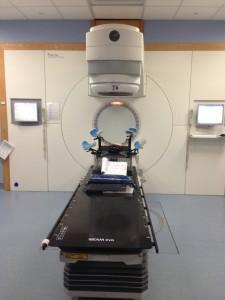Radiotherapy machine